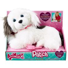 Childrens Kids Patch Animagic Pretty Puppy Brush Hair Barks Hugs